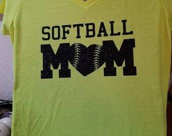 Softball Mom Top