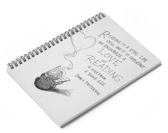 James Patterson Spiral Notebook  Ruled Line