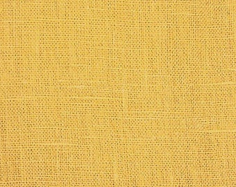 Cornsilk Solid Linen Fabric / Textiles / Fabric by the Yard
