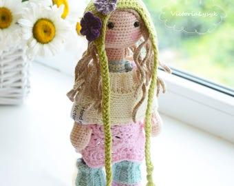 Crochet doll Sue
