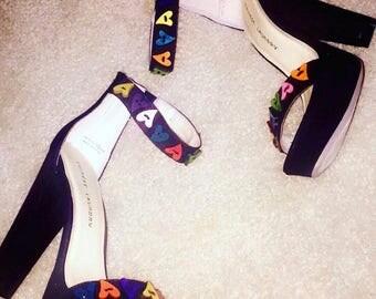 In living color heels