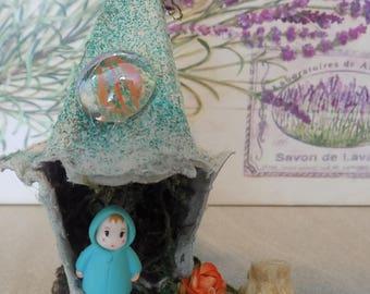 Miniature fairy house