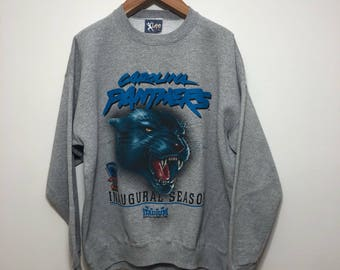 Vintage Carolina Panthers Inaugural Season Crew Neck