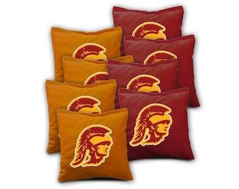 USC Trojans Cornhole Bags - Set of 8