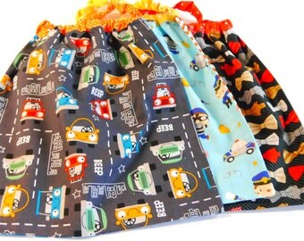 set of 3 towels in elasticated boy