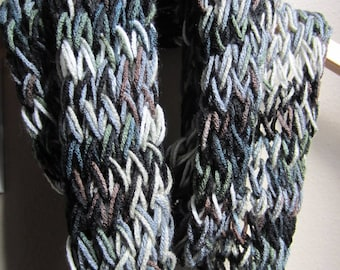 Army color infinity scarf
