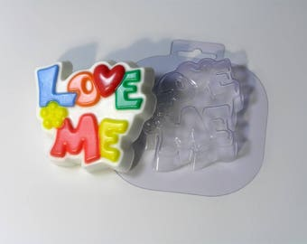 Soap molds, Soap mold, the Form for chocolate, Forms for chocolate, the Icetray, Plastic forms, Kiss you, I Love, In love