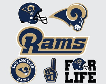 Los Angeles Rams  Nfl Svg Png Dxf Eps  File football svg files, cricut, silhouette cut file Vector Cut File