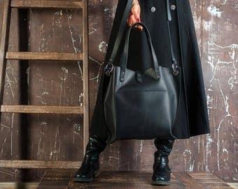 Leather Shoulder Bag,Women leather bag,Messenger bag leather,Leather Laptop Bag,Leather tote bag,Black Leather Tote,Leather Diaper Bag