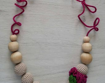 baby teething necklace