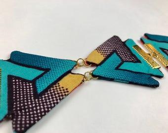 Geometric Choker Necklace 1