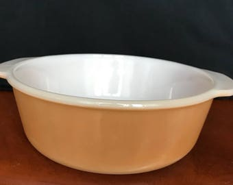 Fire King casserole dish