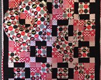 Minnie Mouse Baby Quilt Set
