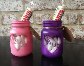 His & Hers Valentines Sweetie Jars