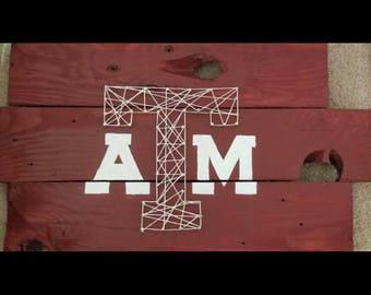 Texas A&M Decor Piece