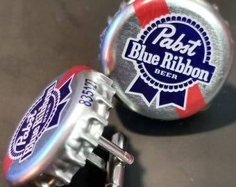 Pabst Blue Ribbon Cufflinks