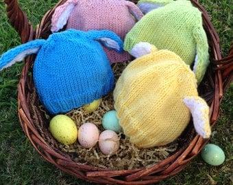 Baby Bunny Hat- Green