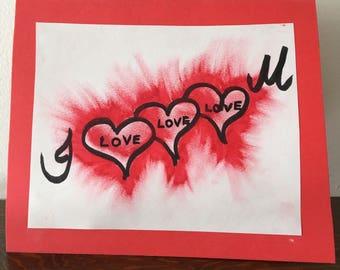 Explosive Love Card