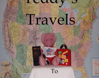 Teddy's Travels To Massachusetts