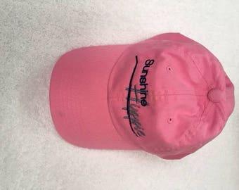 Pink Sunshine Hippie Hat