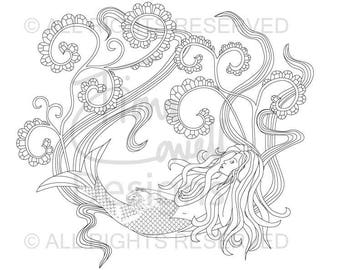 5 A4 pages Sea Life Colouring Book 4