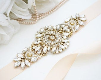 Bridal belt,gold belt,gold bridal belt,gold sash, skinny belt, Bridal belt, Wedding belt, sash belt
