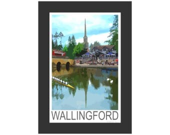 The Thames by Wallingford