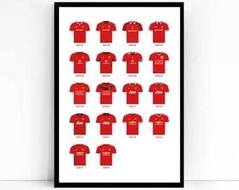 Manchester United | Premier League - Home Kits