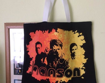 Upcycled T-shirt Bag: Hanson shirt