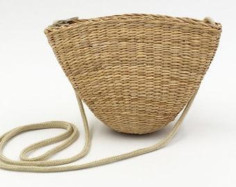 Straw purse straw bag straw handbag seagrass basket seagrass handbags