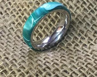 Green Goblin Acrylic Ring
