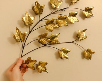 Vintage Brass Ivy//Decorative Ivy