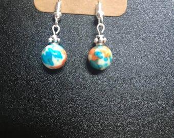 Multicolor Bead Earrings