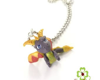 Spyro the dragon collana necklace