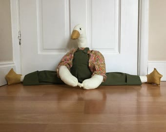 Handmade Novelty duck draft excluder