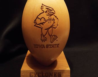 Iowa State 5/8 Scale Maple Football
