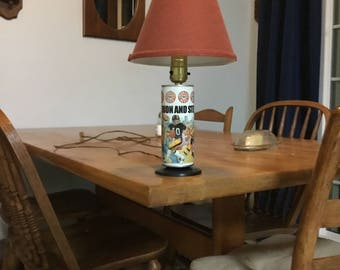 Pittsburgh sports beer can light