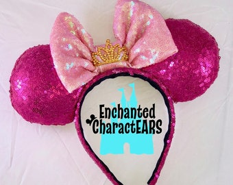Aurora Ears Sleeping Beauty Ears Custom Minnie Ears