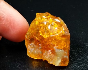 67.10 Unheated & Natural Orange Opal Rough Stone
