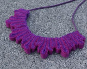 Splash Necklace – Purple