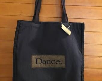 Dance. Canvas Tote