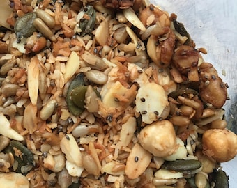 Fully Loaded Low Carb Granola