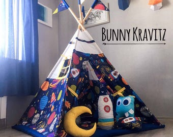 Kids teepee play tent wigwam childrenu0027s teepee playtent tipi wigwam kids & Kids teepee play tent wigwam childrenu0027s teepee tipi