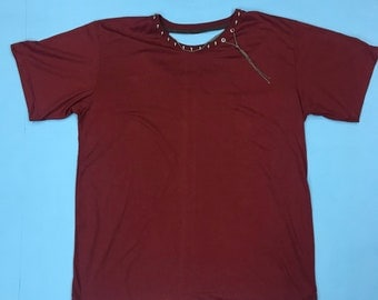 Chain topping comfort tee