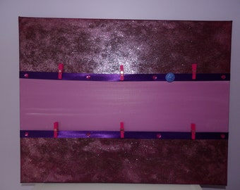 Loose glitter purple