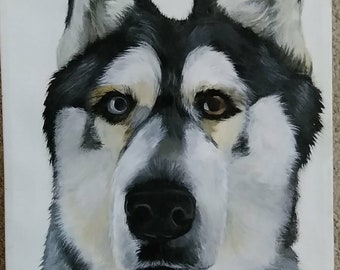 Personalized Acrylic Pet Painting