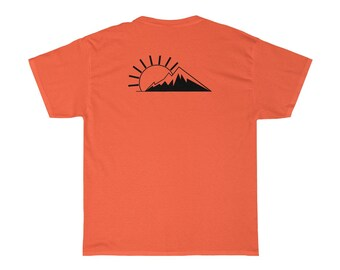 Off The Fence Mountain Sunset - Short Sleeve Tee