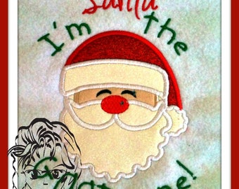 Dear Santa, I'm the GOOD One Applique ~ Downloadable DiGiTaL Machine Embroidery Design by Carrie