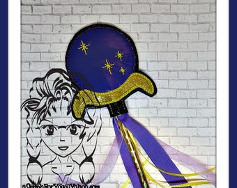 EViL QuEEN Sceptor ~ Pencil Topper & WaND ~ In the Hoop ~ Downloadable DiGiTaL Machine Embroidery Design by Carrie