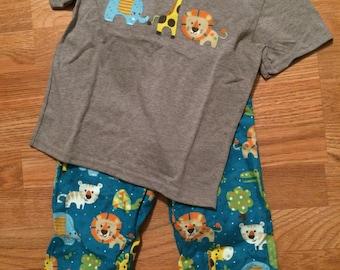 Zoo Animal Pajamas